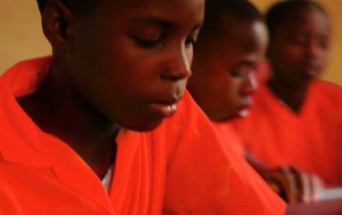 For children in sub-Saharan Africa the rates have improved by 56%, but there is a disparity between literacy for boys and girls. (Copyright: FinnChoice Inc.)